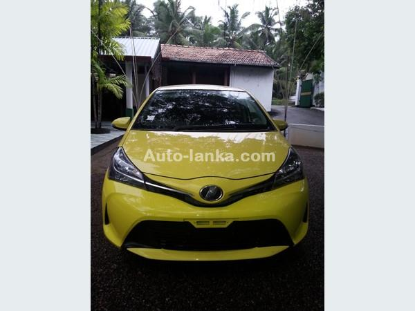 Toyota VITZ F LED PACKAGE 2015 Cars For Sale in SriLanka