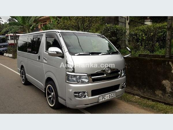 Toyota KDH 200 2007 Car For Sale in Colombo - Auto-Lanka com