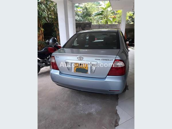 Toyota Corolla 121 2005 Cars For Sale in SriLanka