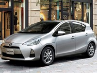 Toyota Hybrid  Aqua for rent