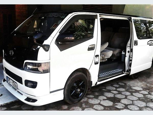 Car Van With Driver Service Wedding Cars With