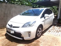 Toyota Prius 3rd Gen Car for Rent as low as Rs3500 per day