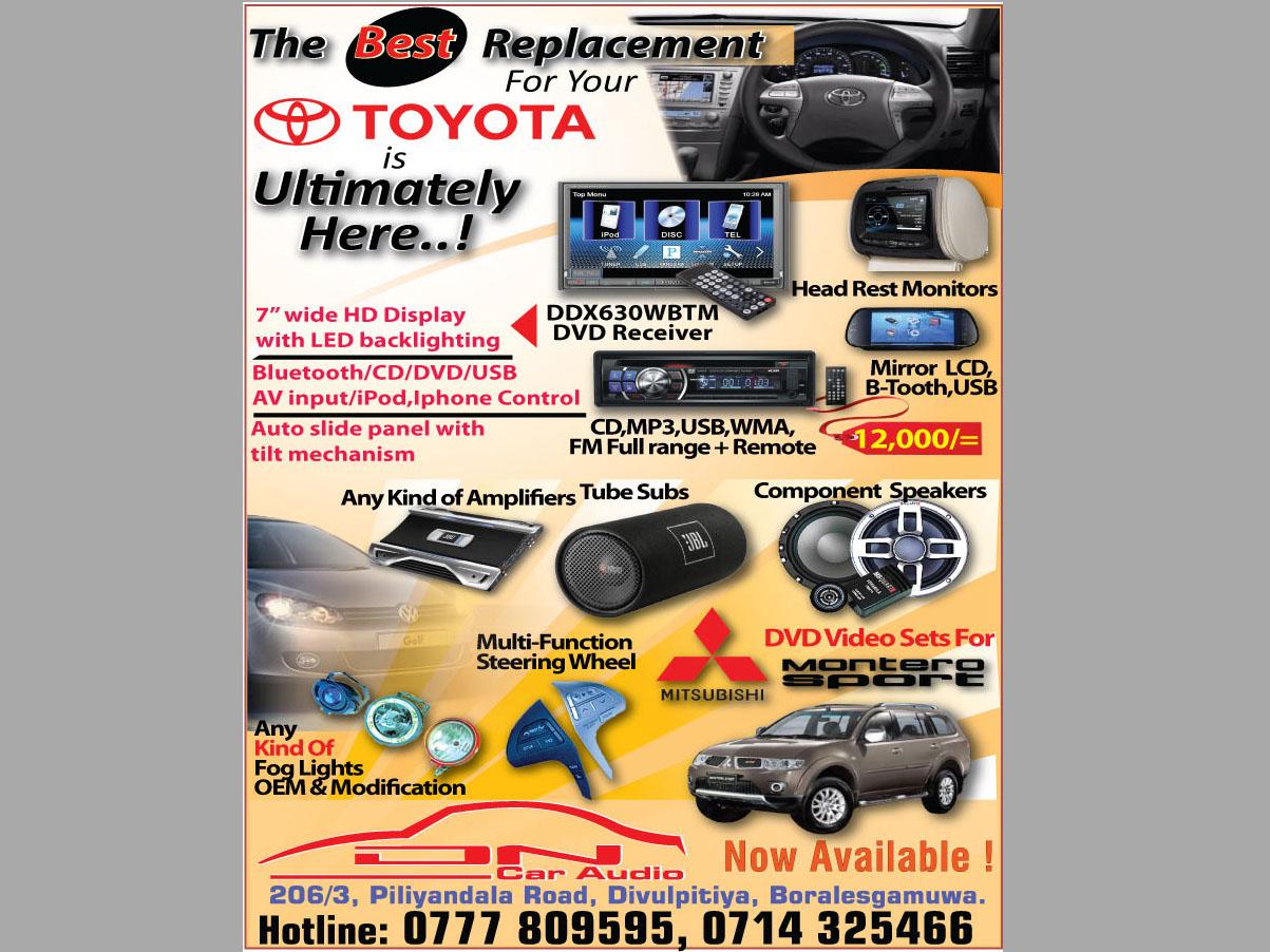 Car Audio Video Systems In Sri Lanka Auto Lanka Com