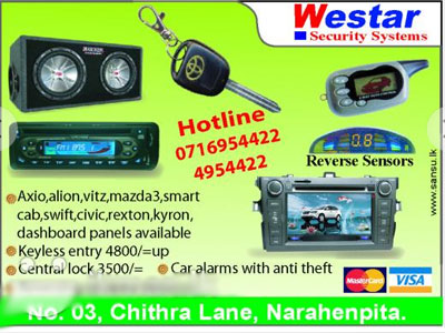 Car Audio/ Video Systems in Sri Lanka - Auto-Lanka com